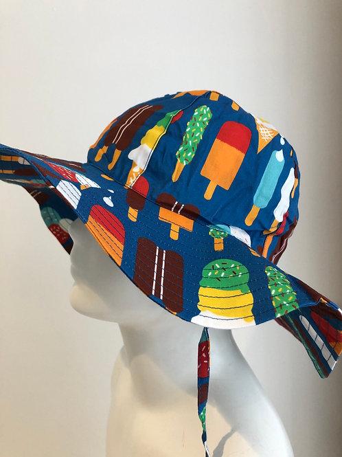 Duns Sun Hat Ice Cream Blue