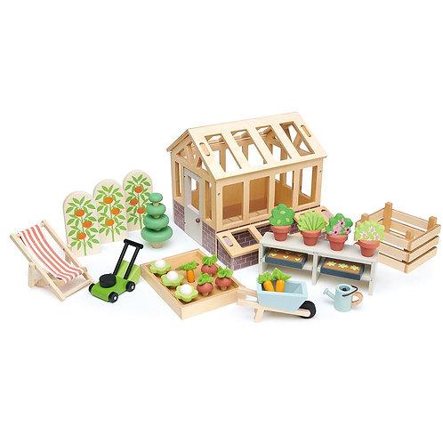 Tender Leaf Greenhouse and Garden Set