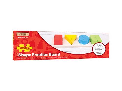 BigJigs Shape Fraction Board
