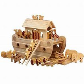 Lanka Kade Deluxe Noah's ark with natural characters