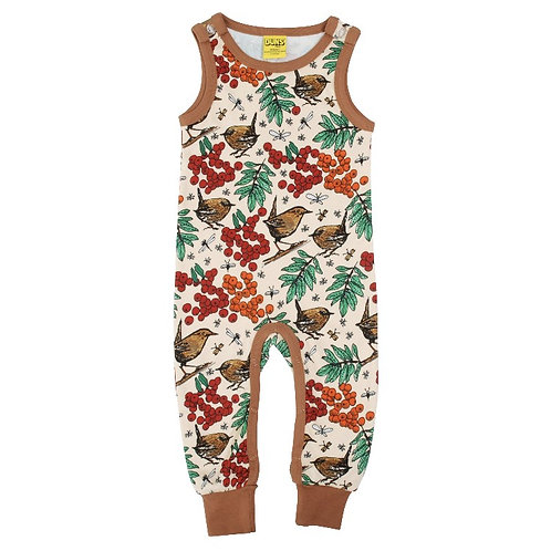 Duns Rowanberry Mother of Pearl Dungarees