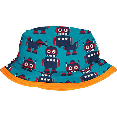Maxomorra Classic Robot Sun Hat