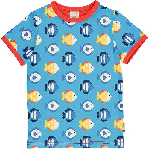 Maxomorra Tropical Aquarium Short Sleeved T-Shirt
