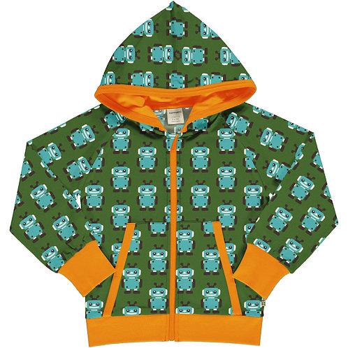 Maxomorra Robot Hooded jacket/cardigan