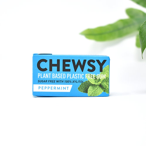 Chewsy Plastic Free Chewing Gum Peppermint
