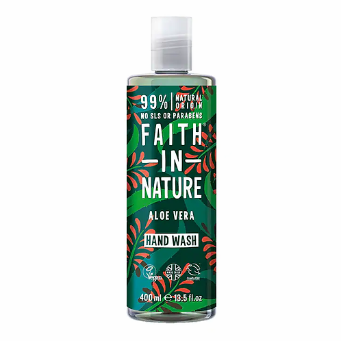 Faith In Nature Aloe Vera & Tea Tree Hand Wash 400ml
