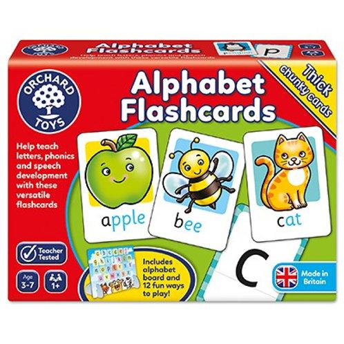 Alphabet Flash Cards Orchard Toys