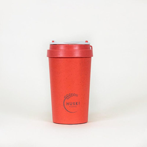 Huski Home Eco-friendly travel cup in Coral- 400ml