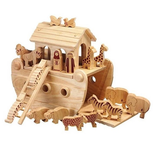 Lanka Kade Junior Noah's ark with natural characters