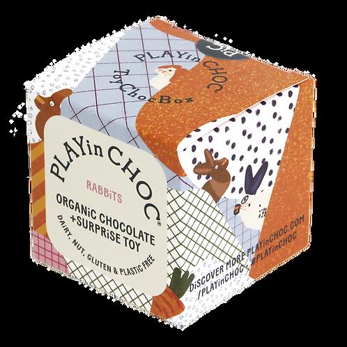 PLAYin  CHOC ToyChoc Box Rabbits