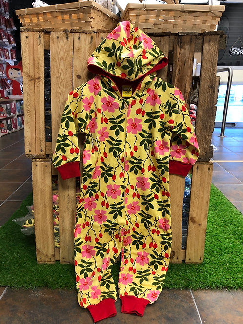 Duns Rosehip Yellow Hooded zip suit