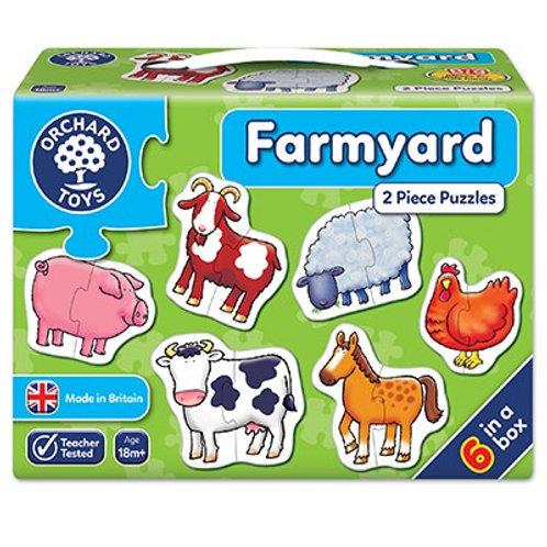 Farmyard Jigsaw Puzzle Orchard Toys