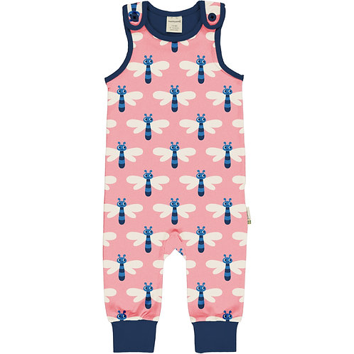Maxomorra Dragonfly Playsuit/dungarees