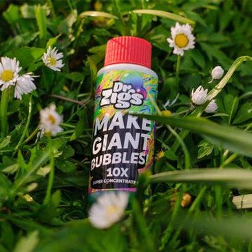 Dr Zigs 100ml C10 Bubble Mix (makes 1 litre) - Travel Size