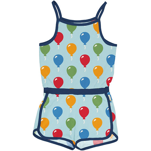 Maxomorra Balloon Short Jumpsuit