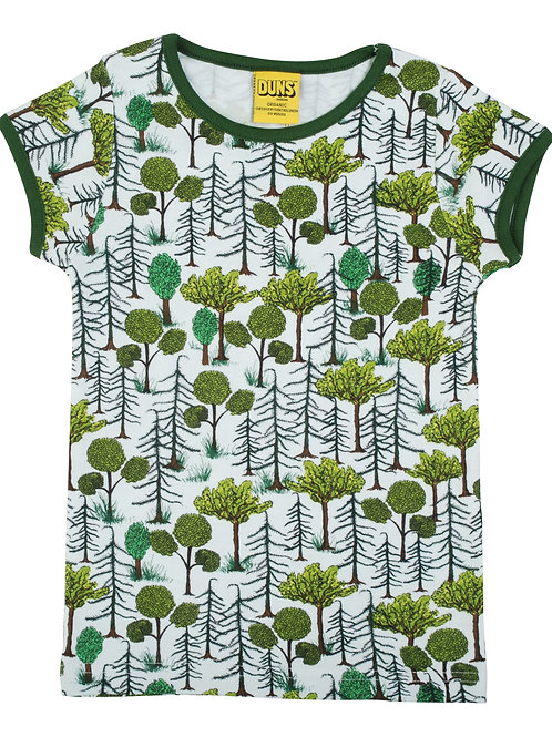 Duns Enchanted Forest Short Sleeved Top