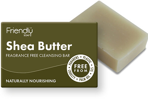Friendly Soap Natural Shea Butter Facial Soap Bar - 95g