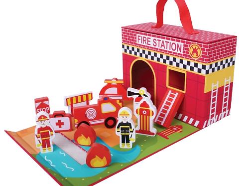 Fire Station fold away by joueco