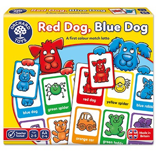 Red Dog Blue Dog Orchard Toys