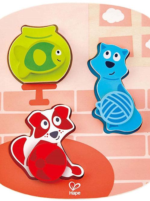 Hape Dynamic Pet Puzzle