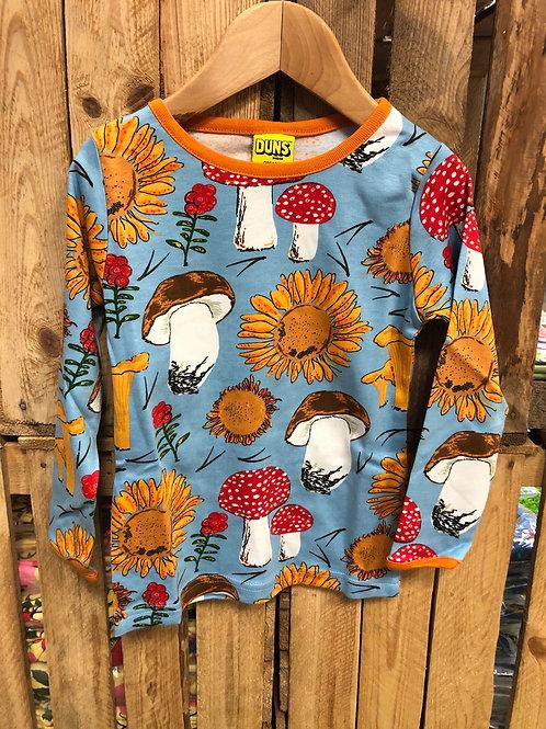 Duns Sunflower Sky Long Sleeve t-shirt