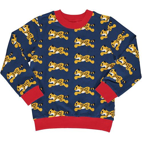 Maxomorra Cheetah Sweatshirt