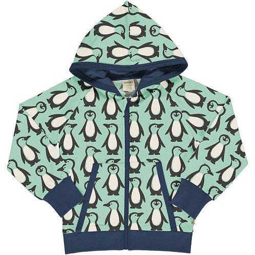 Maxomorra Penguin Family Hooded jacket/cardigan