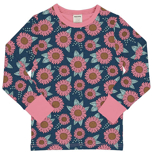 Meyadey Sunflower Dreams  Long Sleeved Top