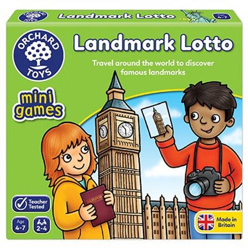 Landmark Lotto Mini Game Orchard toys