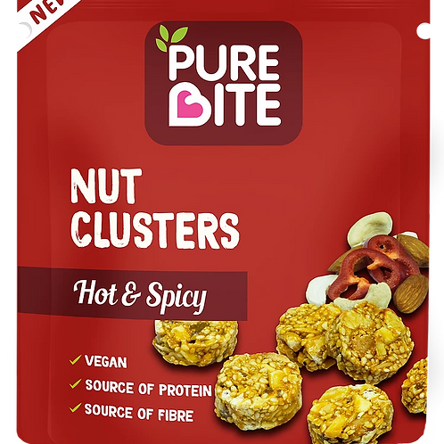 Pure Bite Nut Clusters Hot and Spicy