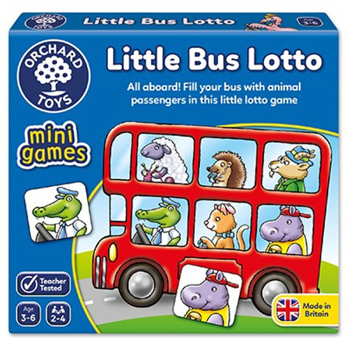 Mini Game Little Bus Lotto Orchard toys