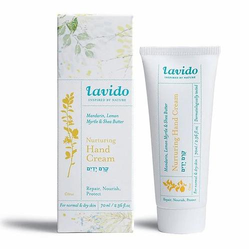 Lavido - Natural Nurturing Hand Cream (2.36 fl oz | 70 ml) (Mandarin & Lemon Myr