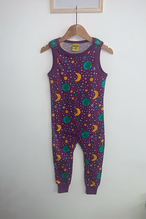 Duns Mother Earth Violet Dungarees