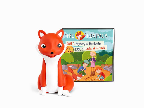 Tonies character : The Fox Pack Mystery in the Garden/Tracks of a Giant