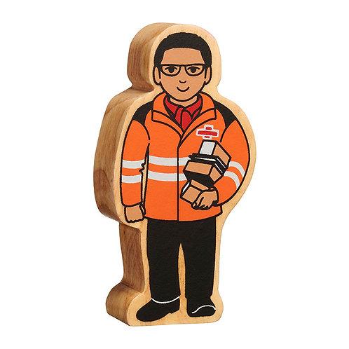 Lanka Kade Orange and Black Delivery Person