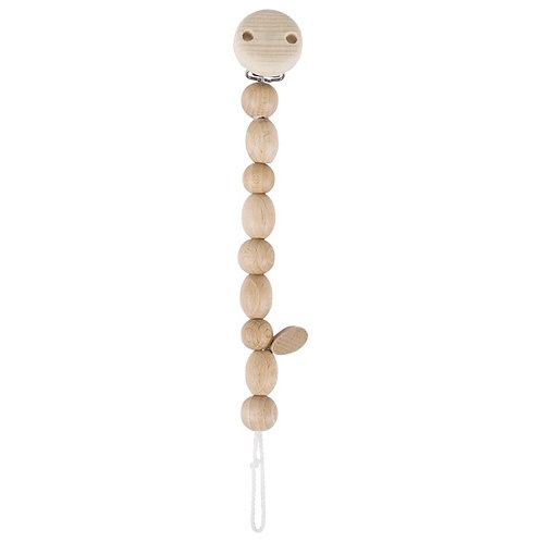 Heimess Natural Wood Soother Chain