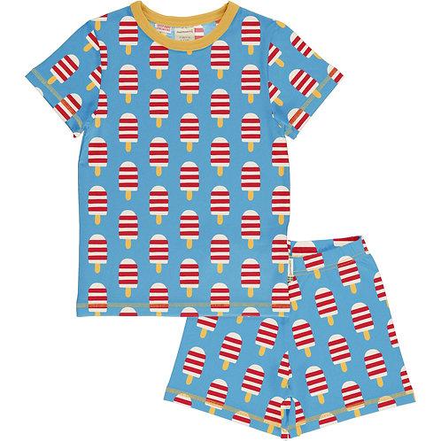 Maxomorra Ice Cream Short Pyjama set