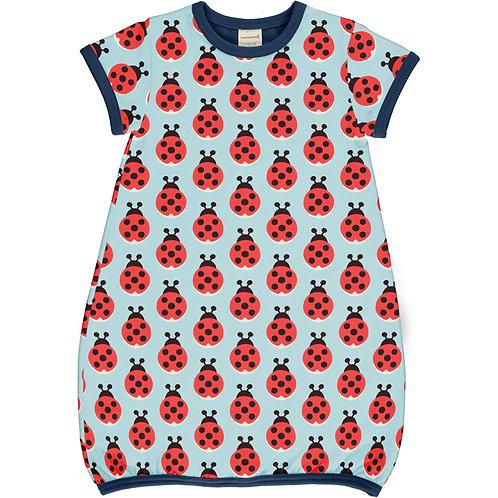 Maxomorra Lazy Ladybug Balloon Dress