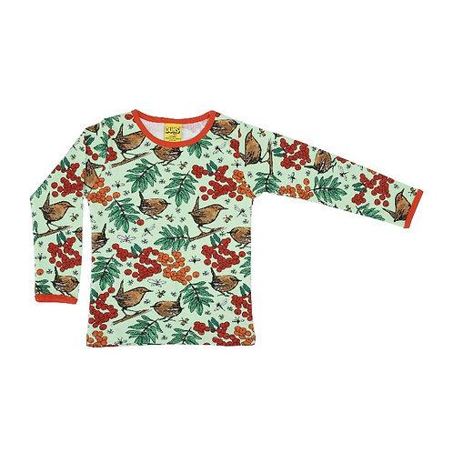 Duns Rowanberry Green Long Sleeve t-shirt ( adult)