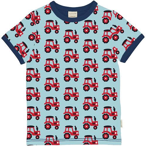 Maxomorra Tractor Short Sleeved Top