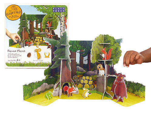 Play Press The Gruffalo Pop-out Playset