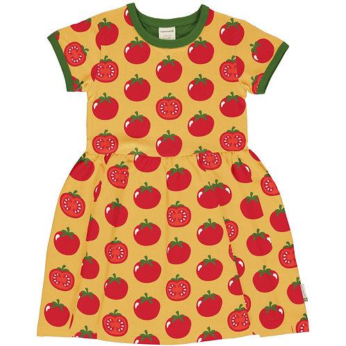 Maxomorra Tomato Short Sleeved Spin Dress