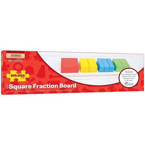 BigJigs Square Fraction Board