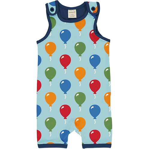 Maxomorra Balloon Short Playsuit/dungarees