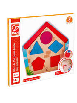Hape whos in the house puzzle