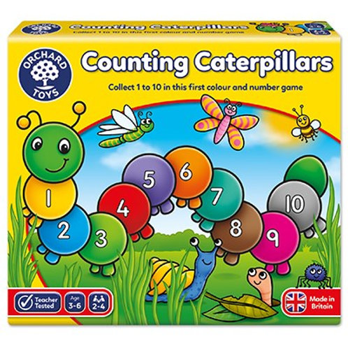 Counting Caterpillars Orchard Toys
