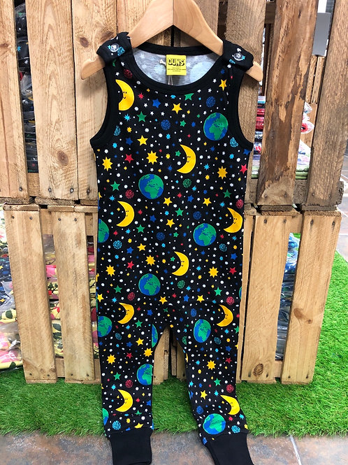 Duns Mother Earth Black Dungarees
