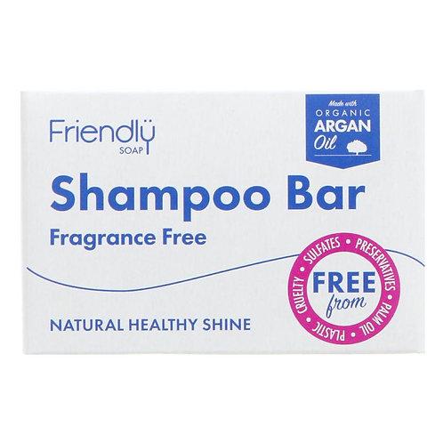 Friendly Soap Shampoo Bar  Fragrance free - 95g