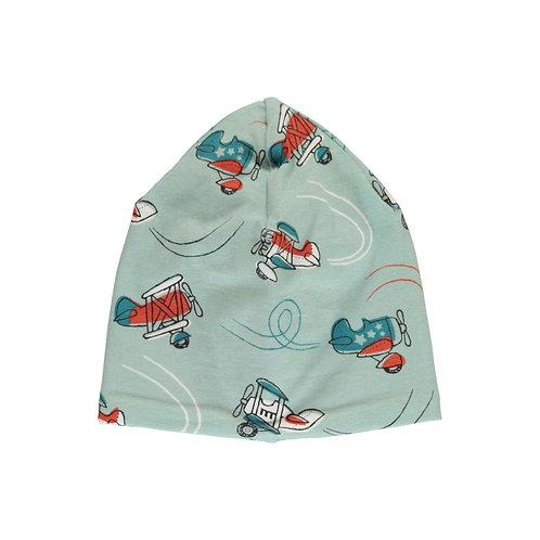 Maxomorra Air show Velour beanie hat