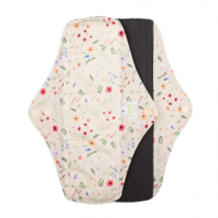 Baba + Boo Reusable Sanitary Pads - 2 Pack Wild Flowers Large